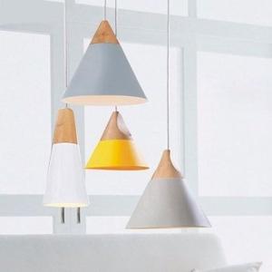 Đèn thả chao hình nón hiện đại